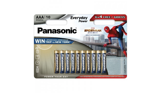 Panasonic Everyday Power battery LR03EPS/10BW (6+4) S-M