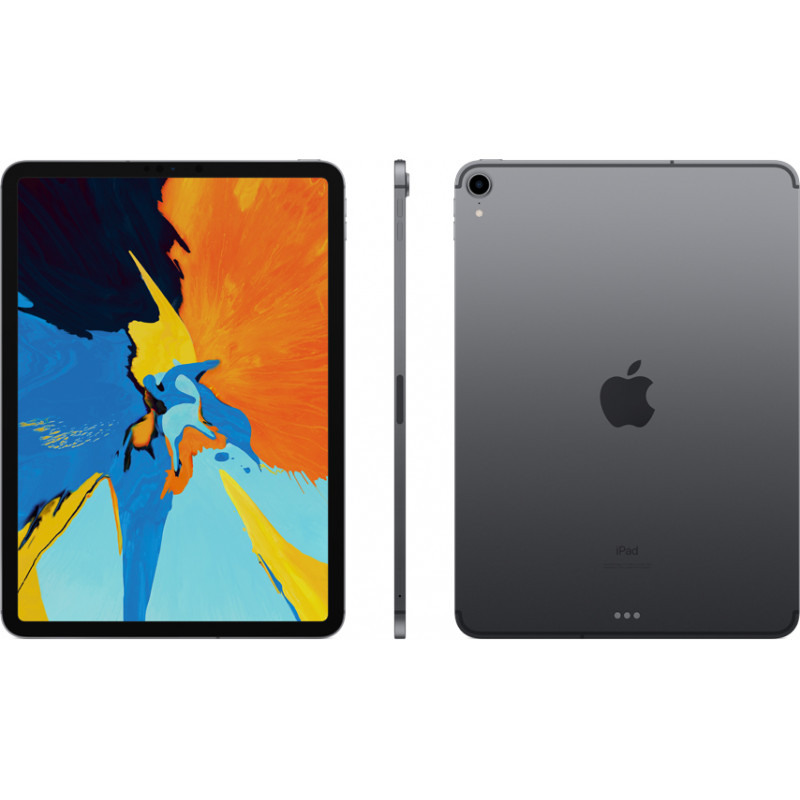 "Apple iPad Pro 11"" 64GB WiFi + 4G, space gray"