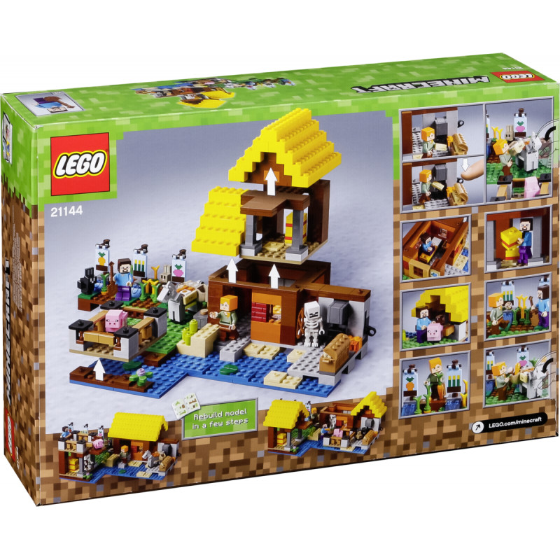 da9ca4e4c6b9 LEGO Minecraft The Farm Cottage (21144) - LEGO - Photopoint