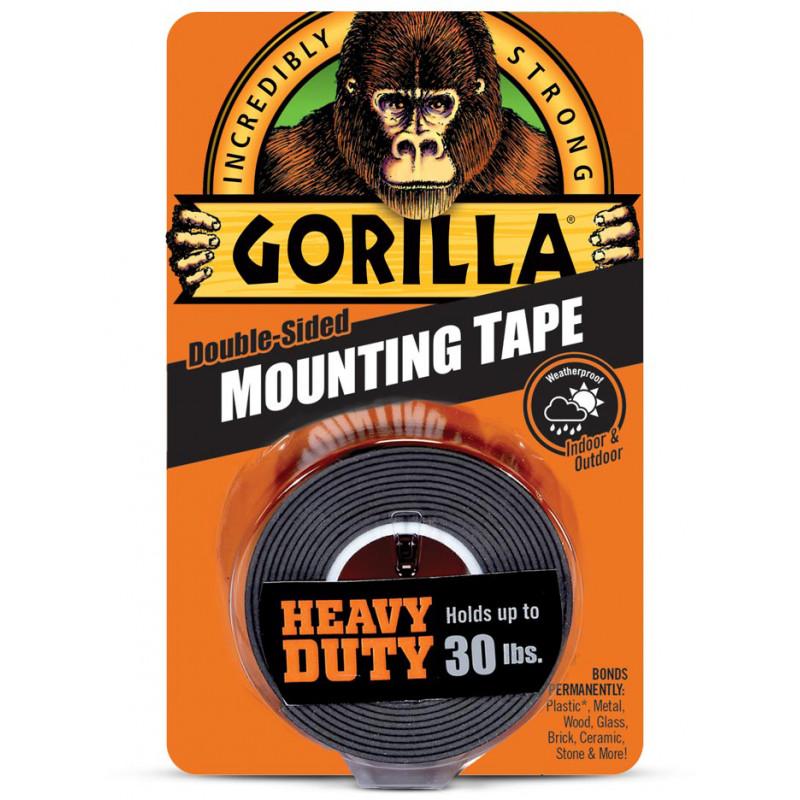 Gorilla tape Mounting Black 1.5m