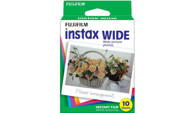 Fujifilm Instax Wide 1x10 (beidzies derīguma termiņš)