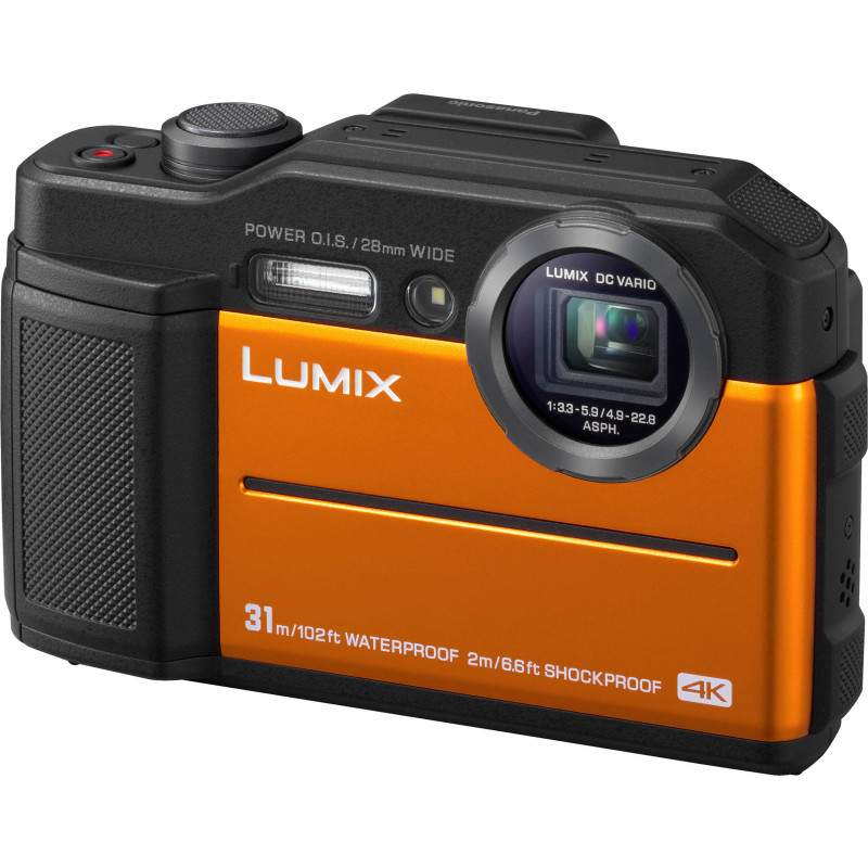Panasonic Lumix DC-FT7, oranž