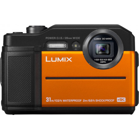 Panasonic Lumix DC-FT7, oranžs