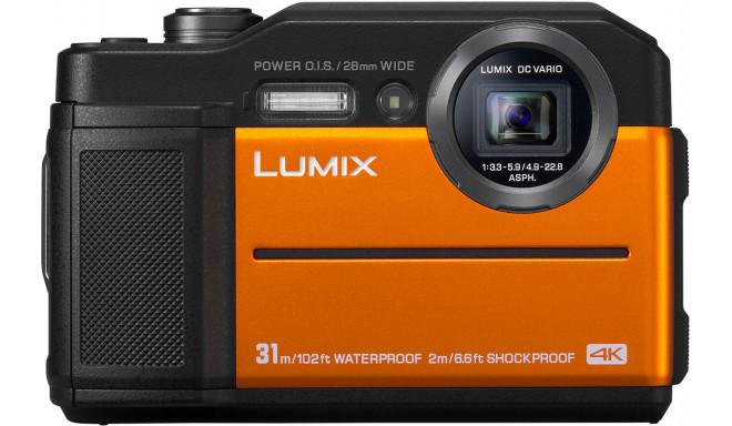 Panasonic Lumix DC-FT7, oranžs