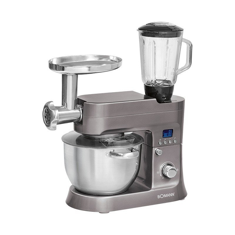 Bomann food processor KM 1395 CB titan 1200W
