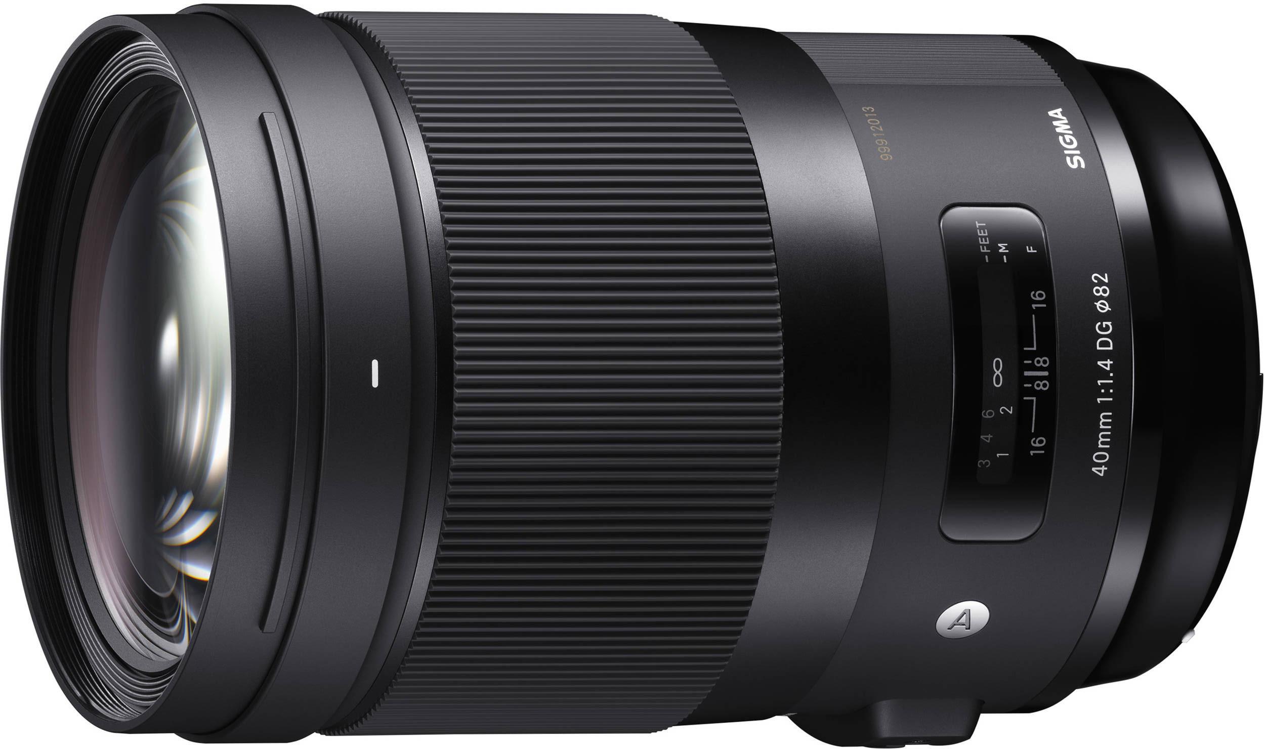 Sigma 40mm f/1.4 DG HSM Art objektiiv Nikonile