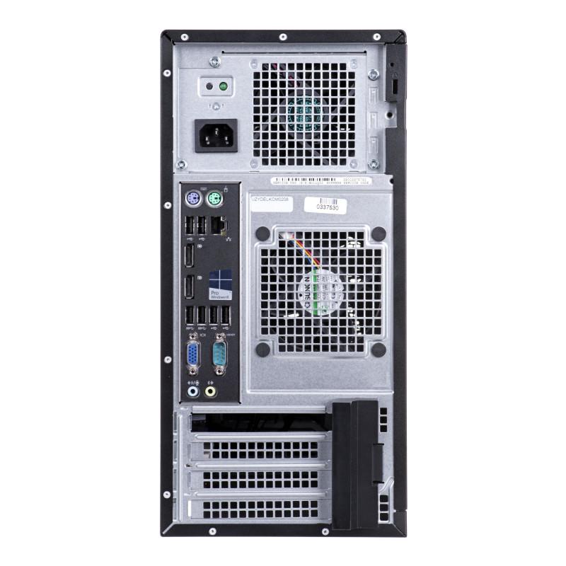 DELL OPTIPLEX 9020 i7-4770 16GB 256GB SSD DVDRW TOWER Win7pro UŻYWANY