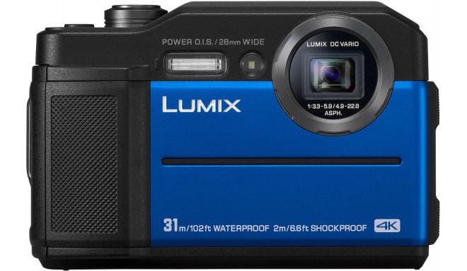 Panasonic Lumix DC-FT7, sinine
