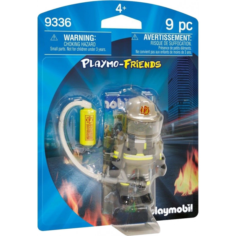 Playmobil Playmo-Friends mängufiguur Tuletõrjuja (9336)