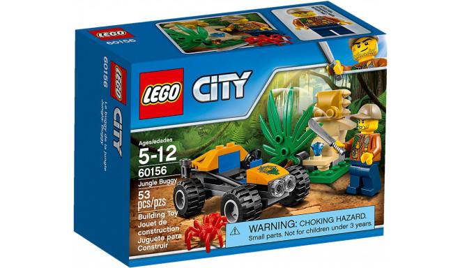 LEGO City rotaļu klucīši Džungļu bagijs (60156)