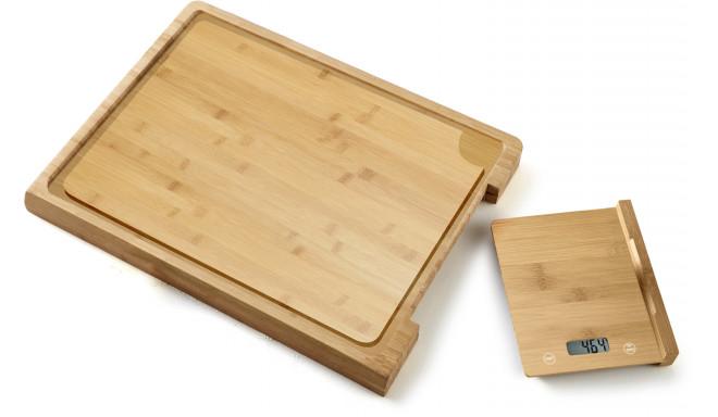 Platinet köögikaal + lõikelaud PCBZB03