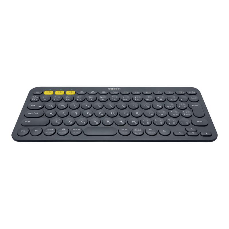 Klaviatuur Logitech K380 Bluetooth keyboard Nordic, Black (must),  28x12 5x1 6cm, 2xAAA patareid, 2YW