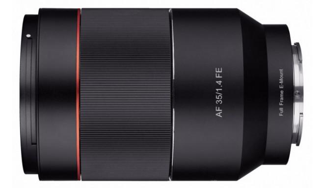 Samyang AF 35mm f/1.4 objektiiv Sonyle