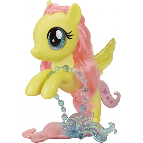 9070a0bb2fc My Little Pony mängufiguur Glitter & Style Seapony Fluttershy (C1832)
