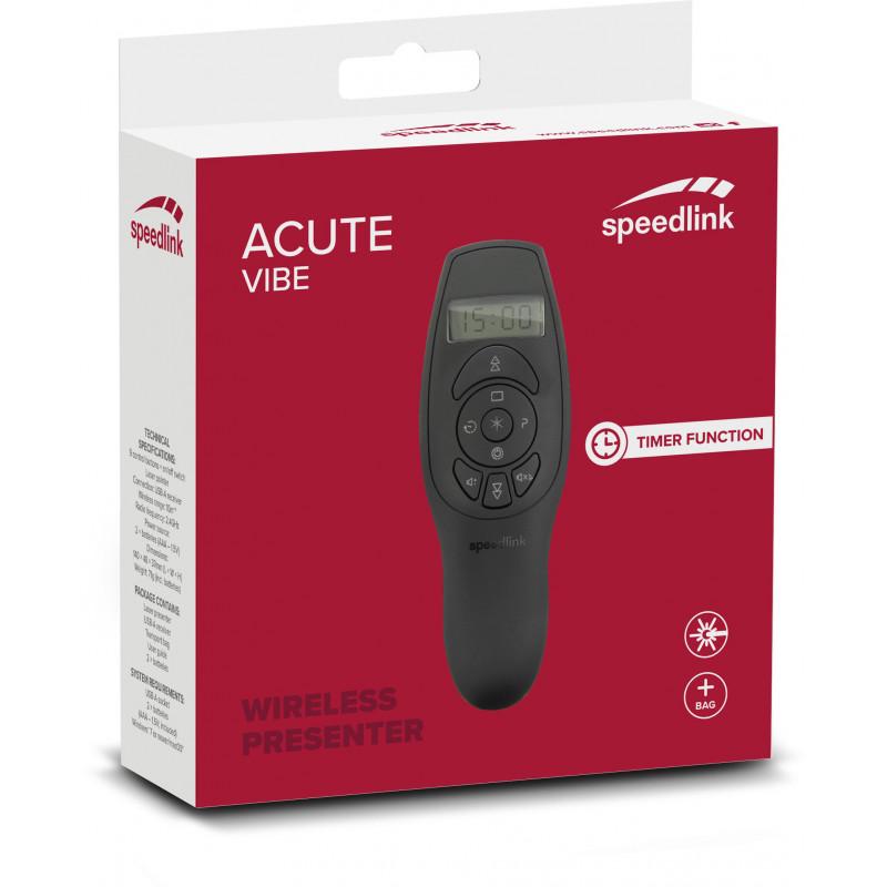 Пульт дистационного управления Speedlink Acute Vibe (SL-600401-BK)