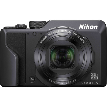 Nikon Coolpix A1000, melns