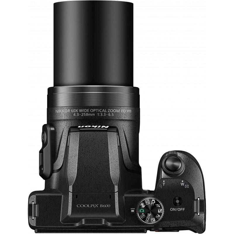 Nikon Coolpix B600, must