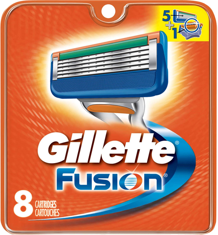Gillette varuterad Fusion 8tk