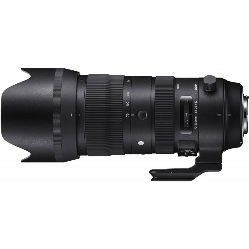 Sigma 70-200mm f/2.8 DG OS HSM Sports objektiiv Canonile