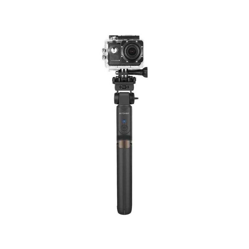 Selfie-stick for camera for smartphones BlitzWolf BW-BS5 Black (black color)