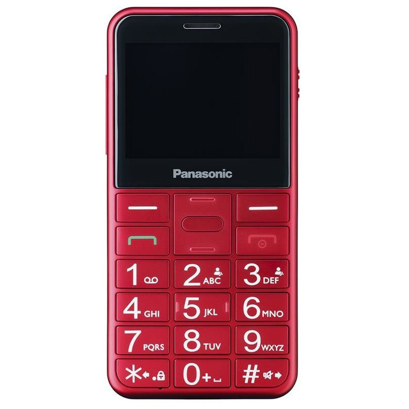 Panasonic KX-TU150 Dual SIM, red