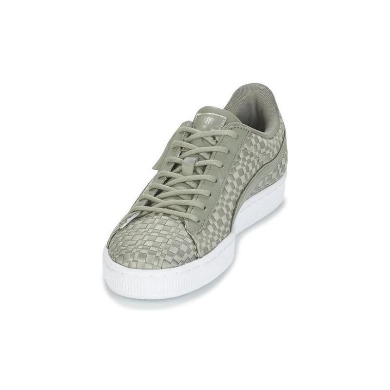 2e2d17776f4 Shoes PUMA Basket Satin Ep Wn S Rock Ridge-Rock Rid (women's; 41; gray  color)