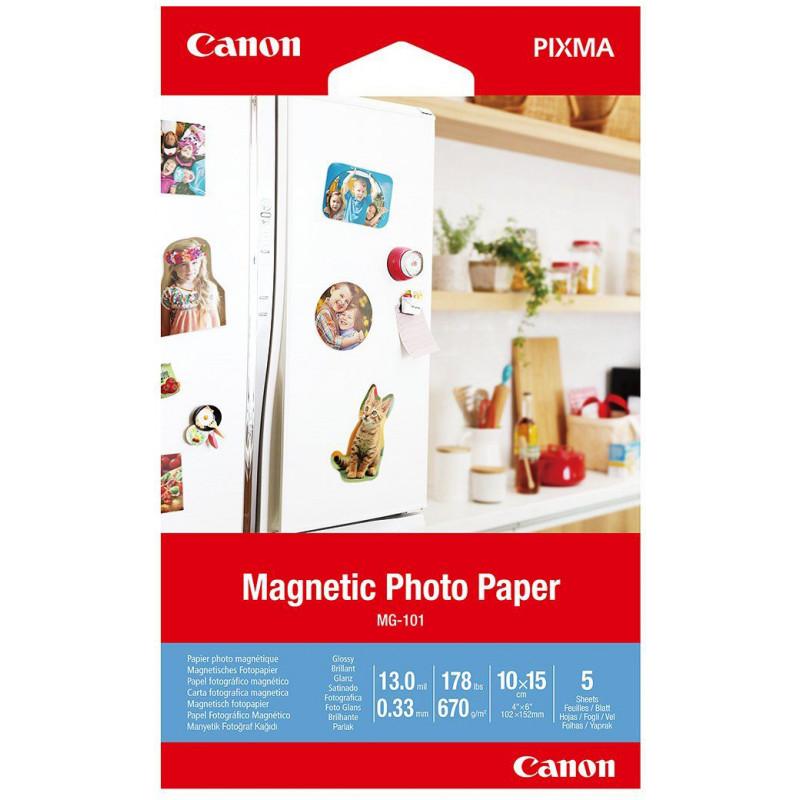 Canon fotopaber Magnetic MG-101 10x15cm 5 lehte