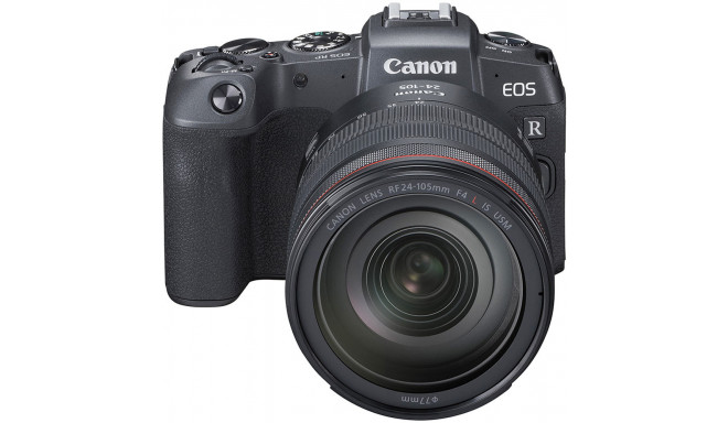 Canon EOS RP + RF 24-105mm f/4L IS USM + adapter EF-EOS-R