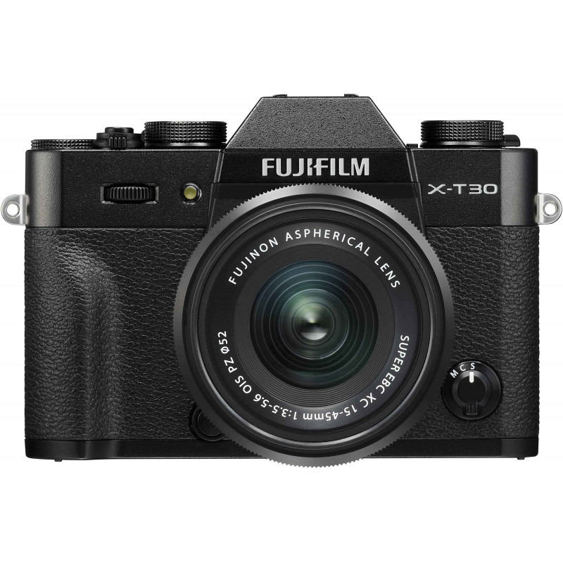 Fujifilm X-T30 + 15-45mm Kit, must
