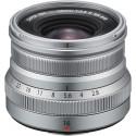 Fujifilm XF 16mm f/2.8 R WR objektiiv, hõbedane