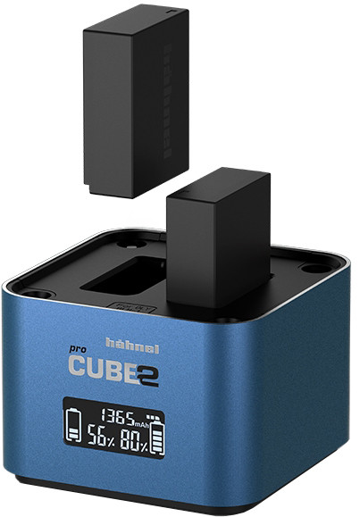 Hähnel laadija ProCube 2 Twin Fuji/Panasonic