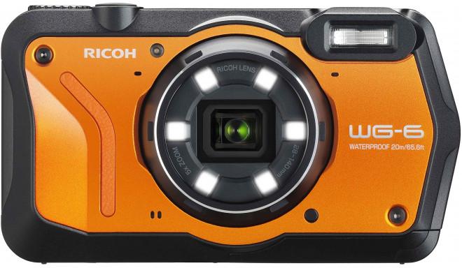Ricoh WG-6, oranžs