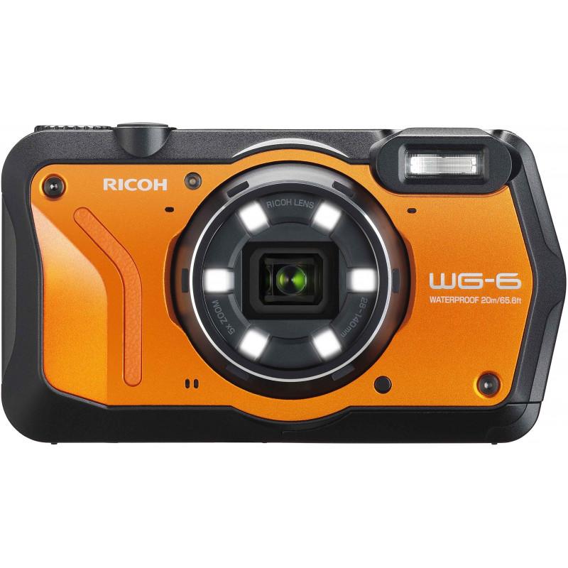 Ricoh WG-6, oranž