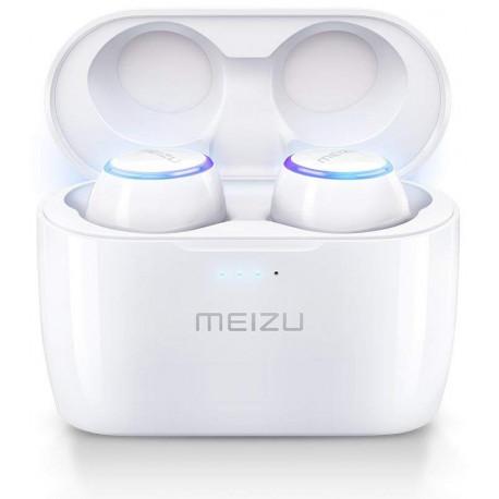 Meizu беспроводные наушники + микрофон Pop BT, белый