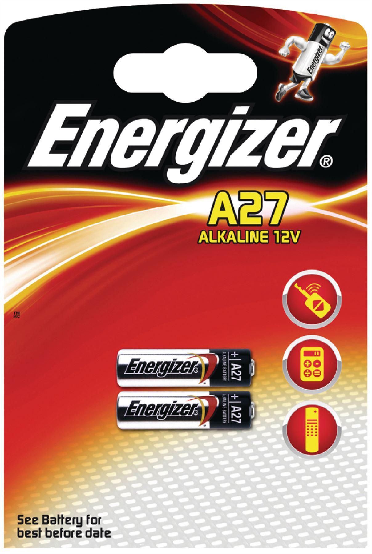 Energizer patarei A27 2tk