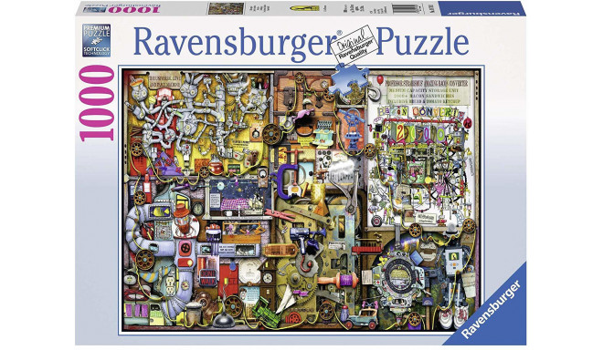 Ravensburger puzle The Inventor's Cupboard 1000gb.
