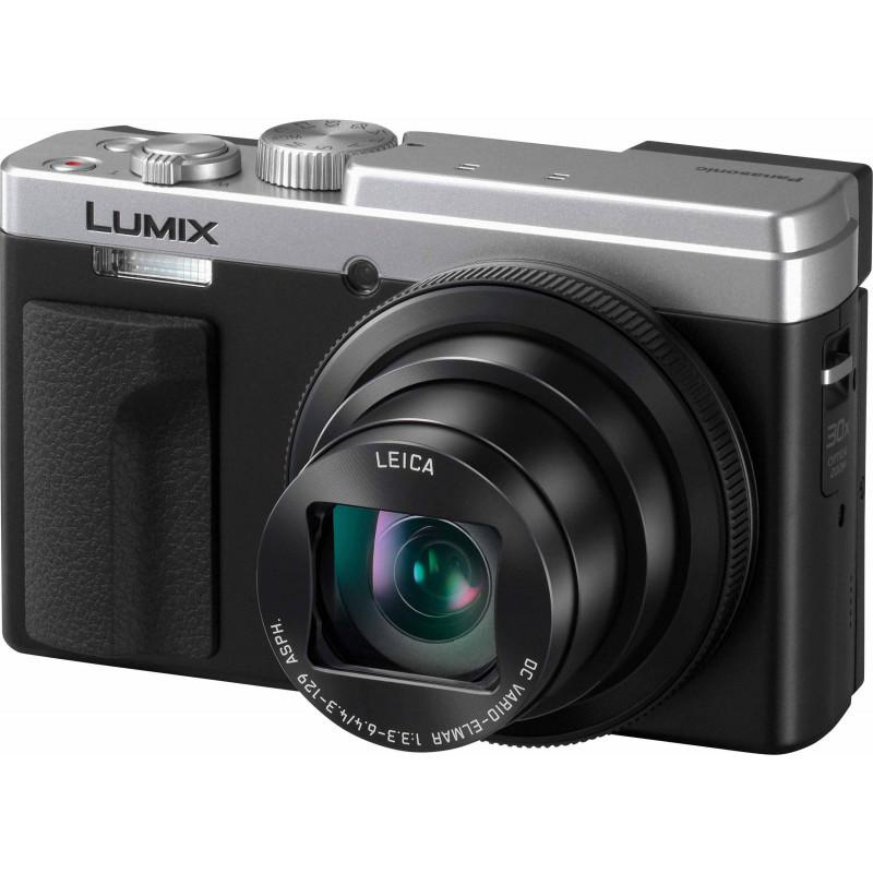 Panasonic Lumix DC-TZ95, hõbedane