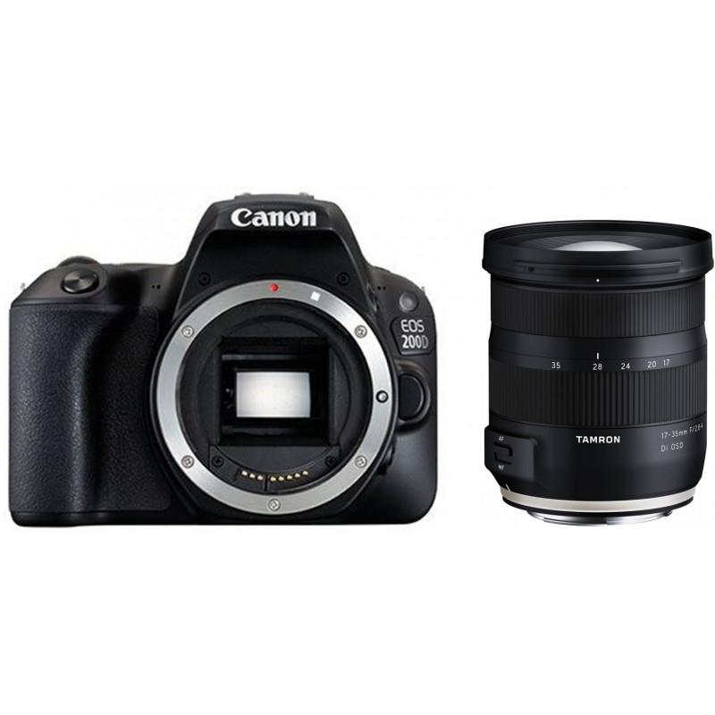 Canon EOS 200D + Tamron 17-35mm OSD