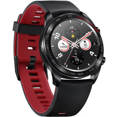 Huawei Honor Watch Magic, melns/sarkans