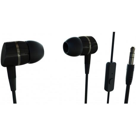 Vivanco austiņas + mikrofons Smartsound, melnas (38009)