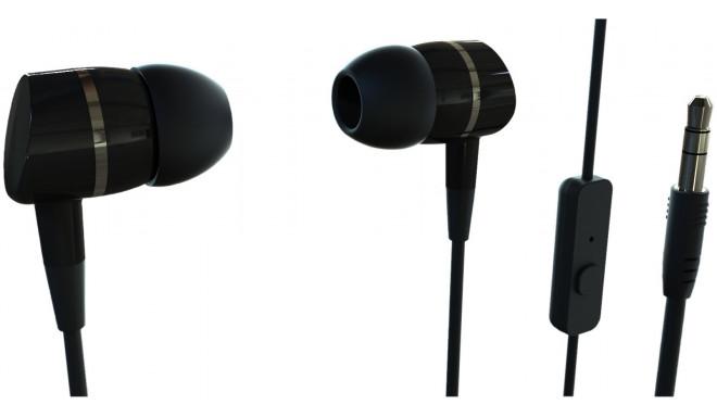 Vivanco наушники + микрофон Smartsound, черный (38009)