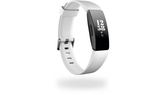 Fitbit aktivitātes trekeris Inspire HR S/L, balts