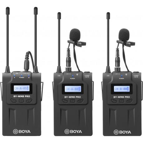 Boya microphone  BY-WM8 Pro-K2 UHF Wireless