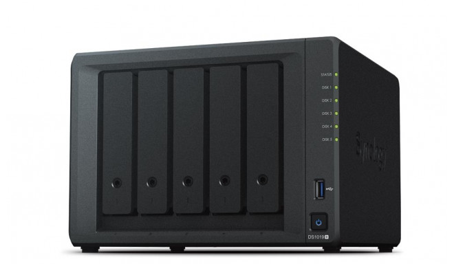 NAS STORAGE TOWER 5BAY/NO HDD DS1019+ SYNOLOGY