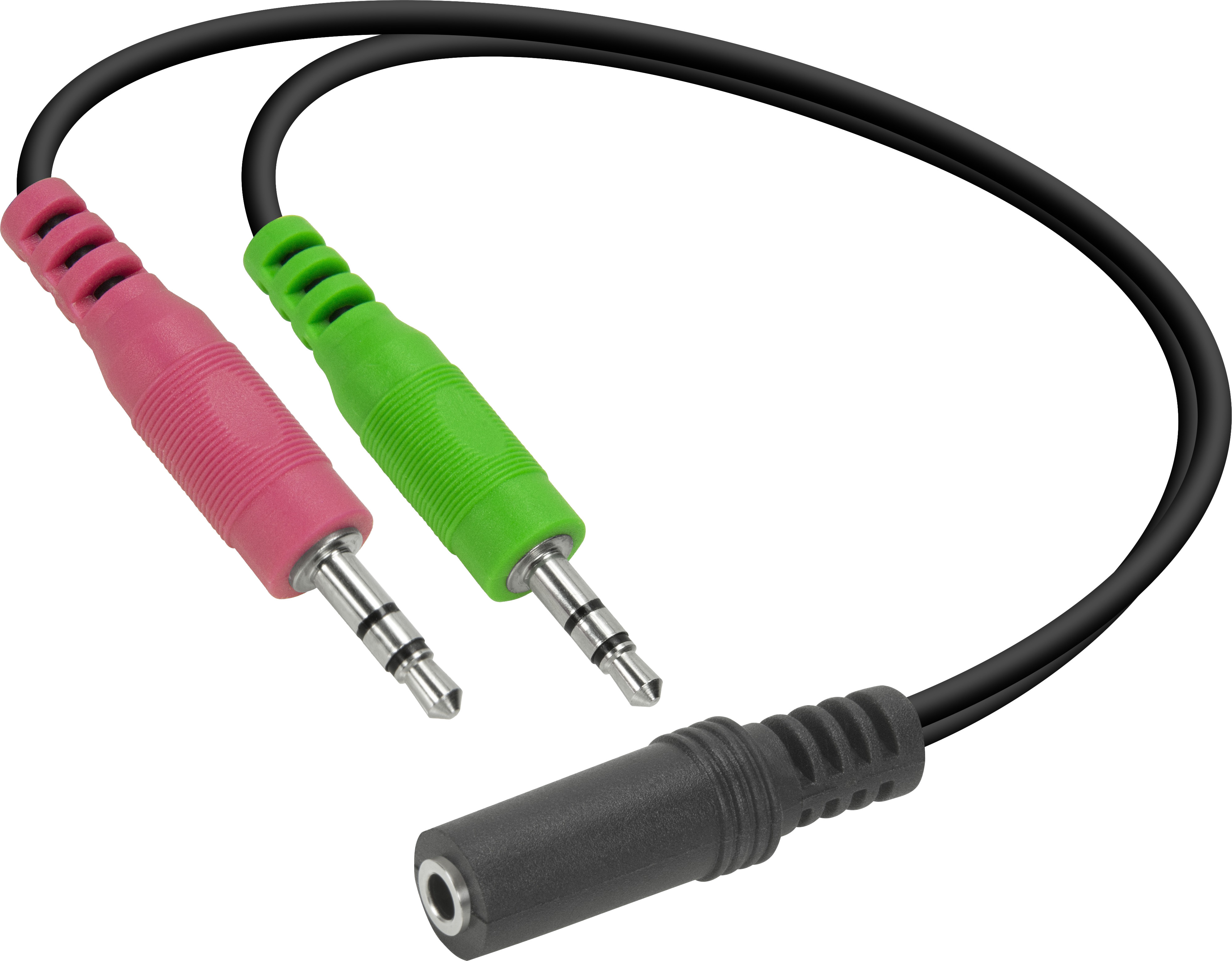Speedlink adapter 3,5mm - 2x3,5mm (SL-170305-BK)