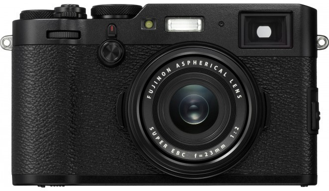 Fujifilm X100F, черный
