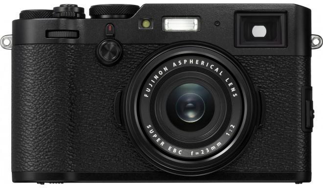 Fujifilm X100F, melns
