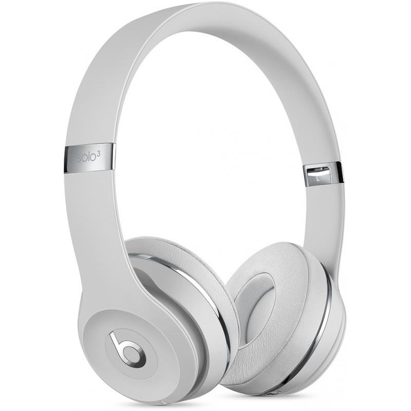 d888b9b8e65 Beats wireless headset Solo3, satin silver - Headphones - Photopoint
