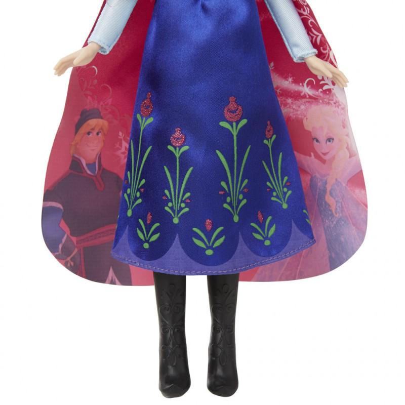 45fa6e031df HASBRO Värvimuutev Frozen nukk B6701 Anna Magical Story Cape Doll ...