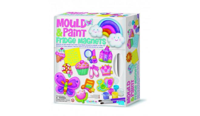 4M Kipsivalamine Ja Värvimine: Külmikumagnetid